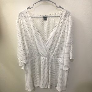 Torrid size 4 blouse. Worn once.